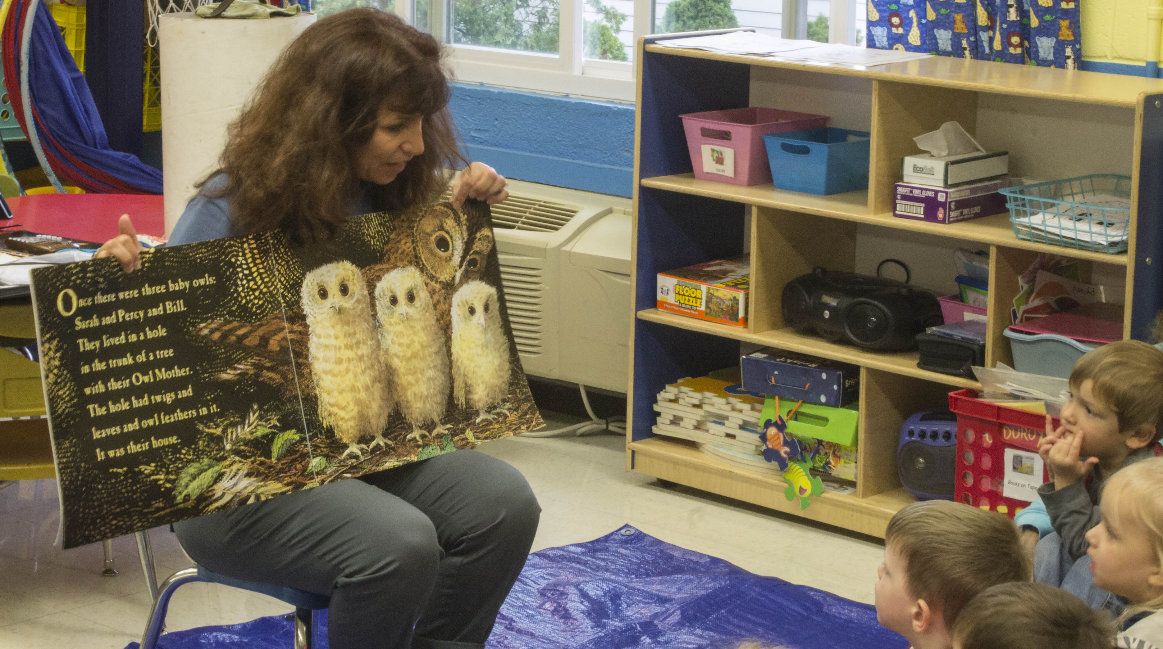 Owl Babies, a Super Story Time